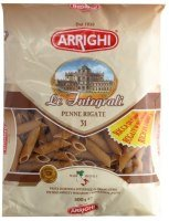 Rigate wholemeal ARRIGHI Penne 500g