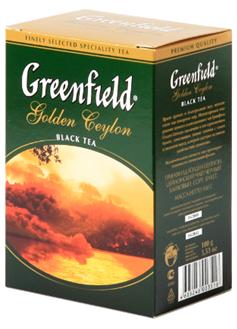 Golden ceylon GREENFIELD 100g