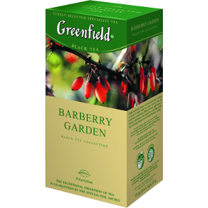 Black tea GREENFIELD barberry garden 1.5g x 25tk