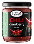 BUGA'S chili cranberry sauce 160g