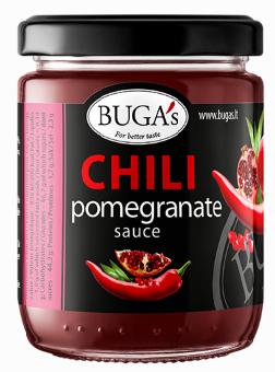 Sauce BUGA'S Chili Pomegranate, 170g