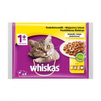 Whiskas Poultry Selection / White meat 4pack 13*4 CIJ