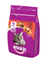 Whiskas dry Beef&Carrot 300 g