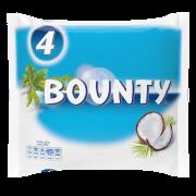 Chocolate bar BOUNTY 4pack, 228 g