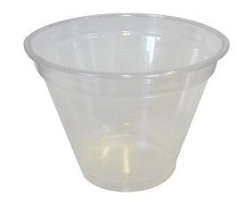 Plastic smoothie cup PET 250/280ml - transparent 50pcs/pack