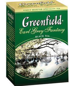 GREENFIELD Earl Grey  black tea  100g