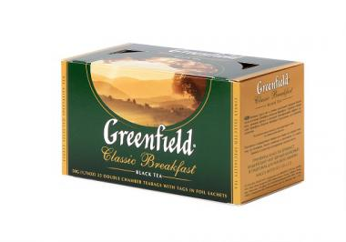 GREENFIELD Classic Breakfastblack tea  2g*25 tk