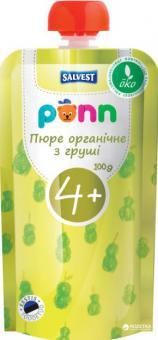 PÕNN Organic pear puree 1   g (4 months)