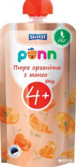 PÕNN Organic mango puree 1   g (4 months)