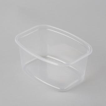 Conteiner transparent PP  500ml 35pcs