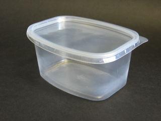 Lid for PP conteiner, transparent 35pcs