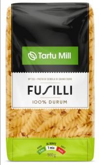 TARTU MILL Fusilli Pasta  durum 500g