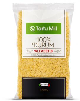 TARTU MILL Alfabeto Pasta  durum 500g