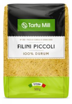 Pasta TARTU MILL Filini piccoli durum flour, 500g