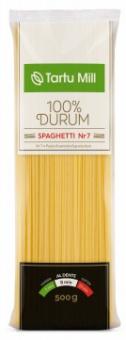 TARTU MILL Spaghetti pasta  durum  Nr7 0,5 kg