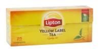 LIPTON Yellow Label black tea, 25pc