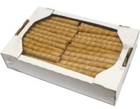 Wafer tubules with toffi stuff, 1 kg