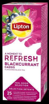 LIPTON Classic Blackcurran tea, 1.6gx25pcs