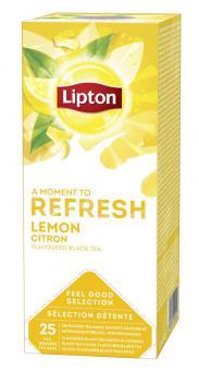 LIPTON Lemon tea, 25 x 1.6 g