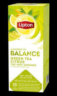 LIPTON Classic Green Tea Citrus, 1.3gx25pcs