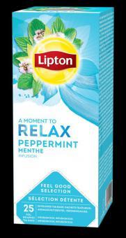 LIPTON Mint tea, 25 x1.6 g