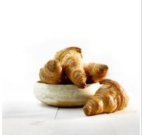 Frozen French buttery croissant GOURMAND, 1,925kg, 35x55 g