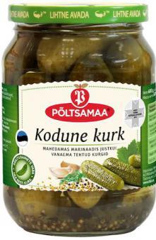 PÕLTSAMAA Kodune Cucumber 680 g / 360 g