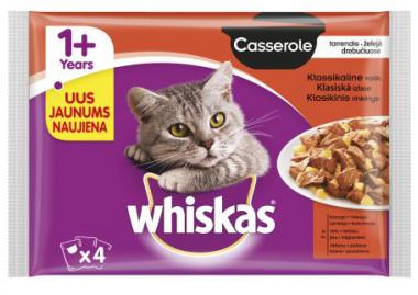 WHISKAS pouch 4-PACK Classic Selection AMMP Casserole CIJ 4*85g