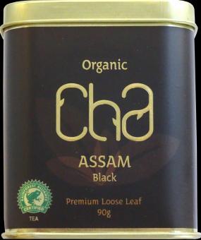CHA Organic BlackTea, Assam Black 90g