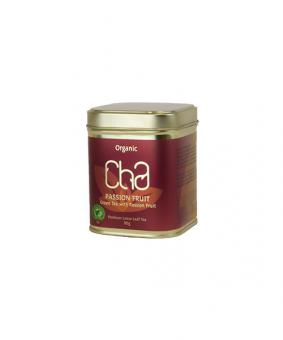 CHA Organic Green Tea, Passionfruit 90g