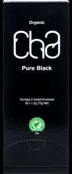 Tea CHA  Pure black, 50 tea bags, 75g
