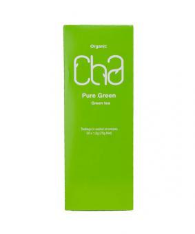 Tea CHA Pure green, 50 tea bags, 75g