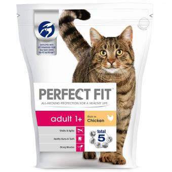 PERFECT FIT Dry food for cats, chicken, 750g