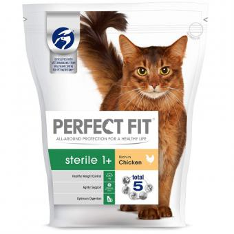 PERFECT FIT Dry food for Sterile cats, chicken, 750g