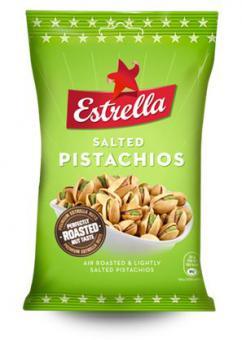 ESTRELLA Air roasted salted pistachios 175g
