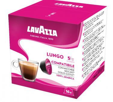 """Coffee capsules LAVAZZA """"Lungo""""  128g"""