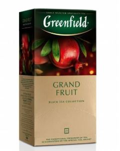 Black tea GREENFIELD Grand Fruit, 1,5gx25pcs