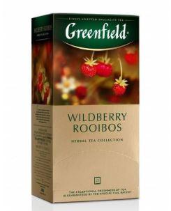 Herbal tea GREENFIELD Wildberry Rooibos, 1,5gx25pcs