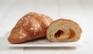 Frozen French buttery croissant GOURMAND, ham, cheese filling, 100g