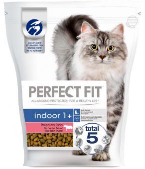 Perfect Fit Indoor Dry  Indoor Beef 750g
