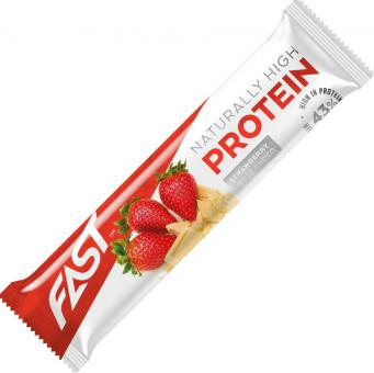 FAST High Protein strawberry- white chocolate 35g