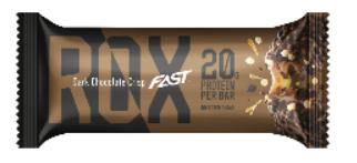 FAST ROX  DARK CHOCOLATE CRISP 55g