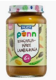 PÕNN Vegetable puree with lamb 190g (6 months)