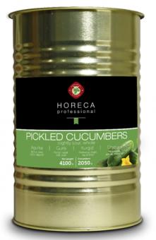 HORECA PROFESSIONAL, Pickled cucumbers 4,2l/4,1l/2,05kg