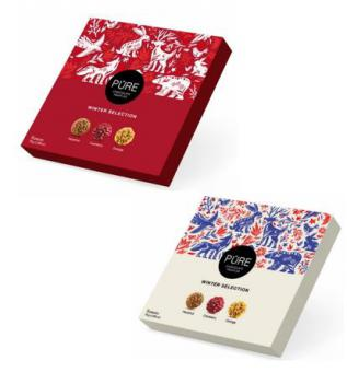 Chocolate truffles collection 9 Christmas