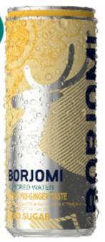 BORJOMI FLAVORED WATER Citrus Mix-Ginger 0,33 ALU