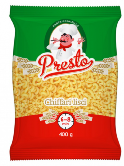 PRESTO pasta Chiffari Lisci Nr.183, 400g