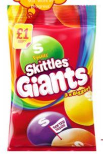 SKITTLES Giants ,95g