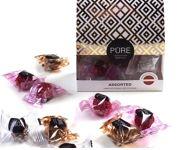 Milk chocolate truffles Assorted PURE DECO 12 96g