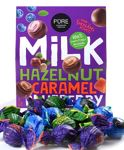 Milk chocolate truffles with fillings Assorted 202g